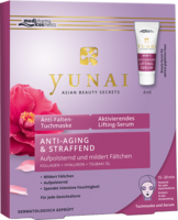 YUNAI Anti-Falten-Maske 25g+aktiv.Lifting-Ser.4ml